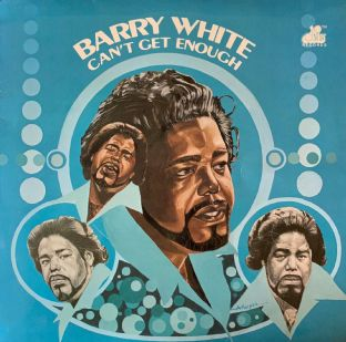 Barry White - Can't Get Enough (LP) (G/VG-)